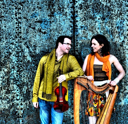 Catriona McKay & Chris Stout, photo by Donald MacLeod