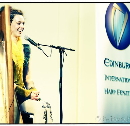 Catriona McKay at Edinburgh Harp Festival